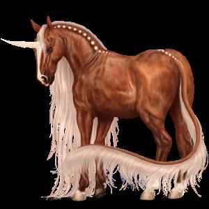 Riding unicorn Vanner Dapple gray Tobiano