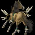 Pégase de selle Quarter Horse Bai Brûlé
