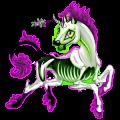 Unicorn Marwari Chestnut Overo
