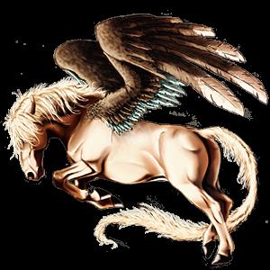Pegasus pony Welsh Dun
