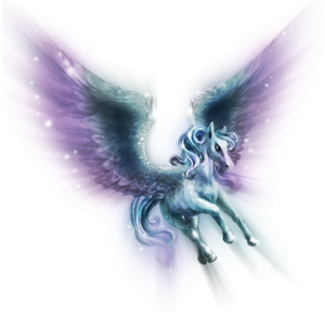 Pegasus pony Connemara Liver chestnut