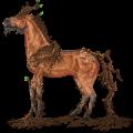 Winged Unicorn Arabian Horse Chestnut