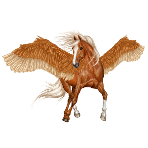 Pegasus Quarter Horse Flaxen Liver chestnut