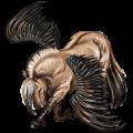 Pegasus pony Fjord Gra