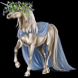 Licorne de selle Hanovrien Alezan Crins Lavés