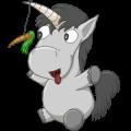 Pony-eenhoorn Welsh Kastanje