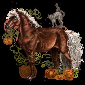 Pony Connemara Cremello