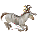Unicorn Appaloosa Bay Snowflake