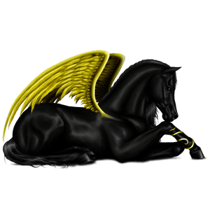Pegasus Englisches Vollblut Brauner