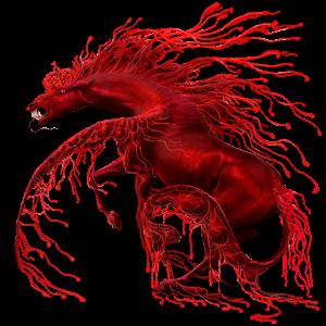 Pegaz wierzchowy Koń czystej krwi arabskiej Gniada