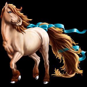 Pegasus pony Welsh Palomino