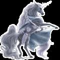 Unicornio de montar Hanoveriano Roano