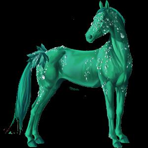 Jezdecký pegas Arabský plnokrevník Smíšený bělouš