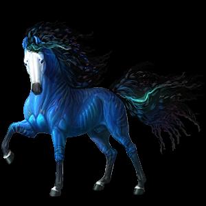 Riding Horse Icelandic horse Dapple Grey