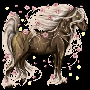 Cavallo da corsa Trottatore Francese Baio