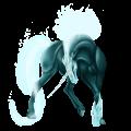 Unicornio Pura raza española Alazán