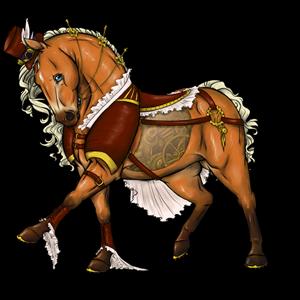 Пони-Пегас Шетландский пони Гнедая