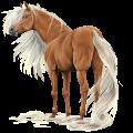 Riding Horse Holsteiner Flaxen Chestnut