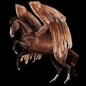Pegaz wierzchowy Holenderski koń gorącokrwisty Siwa Jabłkowita