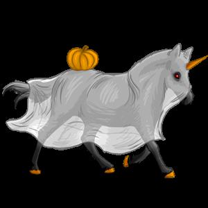 Poney licorne Poney de Selle Belge Gris Truité