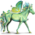 Pegaz Koń andaluzyjski Bułana