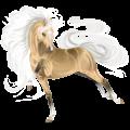 Riding Horse KWPN Light Gray