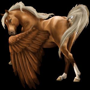 Pegaz wierzchowy Koń pełnej krwi angielskiej Skarogniada