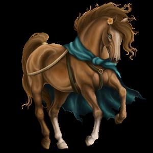 Poník Velšský kůň Červený bělouš
