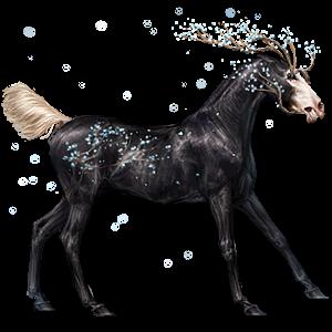 Riding unicorn Appaloosa Bay Blanket