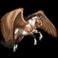 Unicornio alado Peruano de paso Isabelo