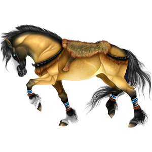 Riding Horse Thoroughbred Dapple Gray