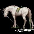 Riding unicorn Knabstrupper Chestnut Leopard