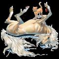 Koń wierzchowy Koń pełnej krwi angielskiej Siwa Jabłkowita