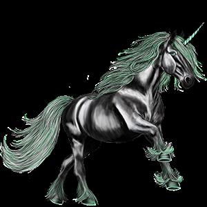 Unicorn pony Connemara Chestnut