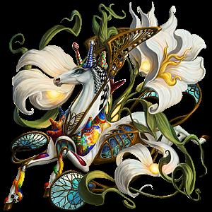 Winged riding unicorn Appaloosa Few Spots