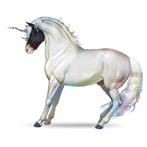 Riding unicorn Mustang Dun