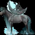 Winged Unicorn Knabstrupper Roan