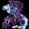 Winged unicorn pony  Kerry Bog Chestnut