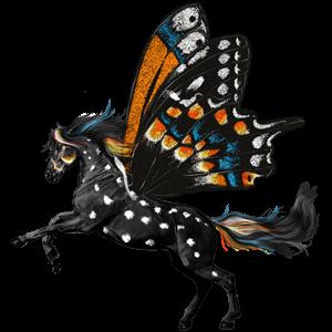 Pegasus pony Chincoteague Pony Cremello