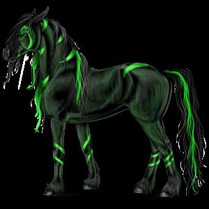 Reitpferd Paint Horse Fuchs mit Tovero-Scheckung