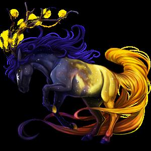 Unicorn pony Australian Pony Dark Bay
