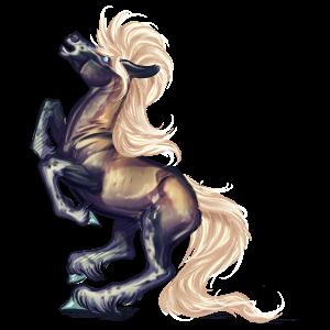 Pegasus Quarter Pony Dunkelfuchs