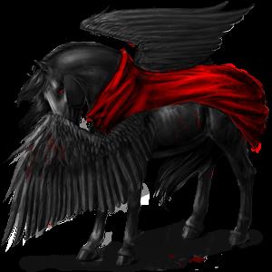 Jazdecký Pegas Anglický plnokrvník škvrnitý šedý
