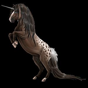Unicorn pony Welsh Mouse Gray