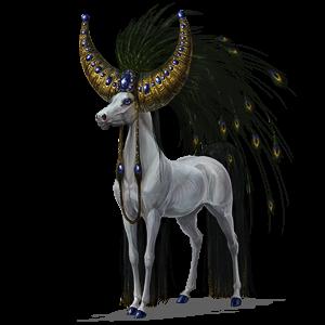 Unicornio de montar Azteca Bayo