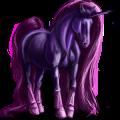 Jednorożec Koń andaluzyjski Ciemnogniada