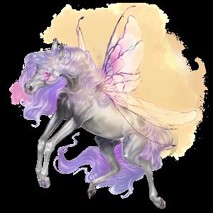 Pegaz wierzchowy Koń luzytański Bułana
