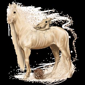 Reitpferd Araber Roan