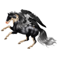 Pegasus Paint Horse Palomino Overo