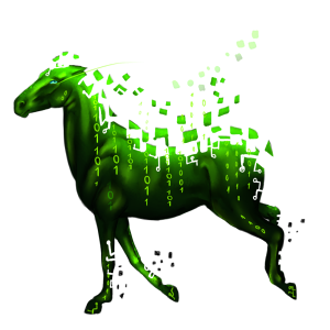 Pegasus-ponny Haflinger Linfux